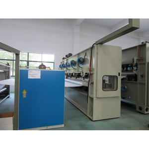 HONGE- Automotive Needle Punched Nonwoven Geotextile Making Production Line
